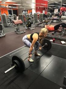 Deadlift squat
